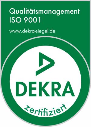 ISO 9001:2015 zertifiziert