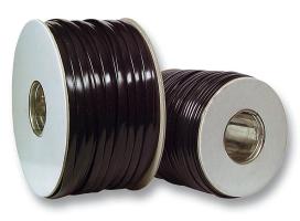 Flachbandkabel ungeschirmt schwarz 6-adrig 500m. Rolle RoHS Konform