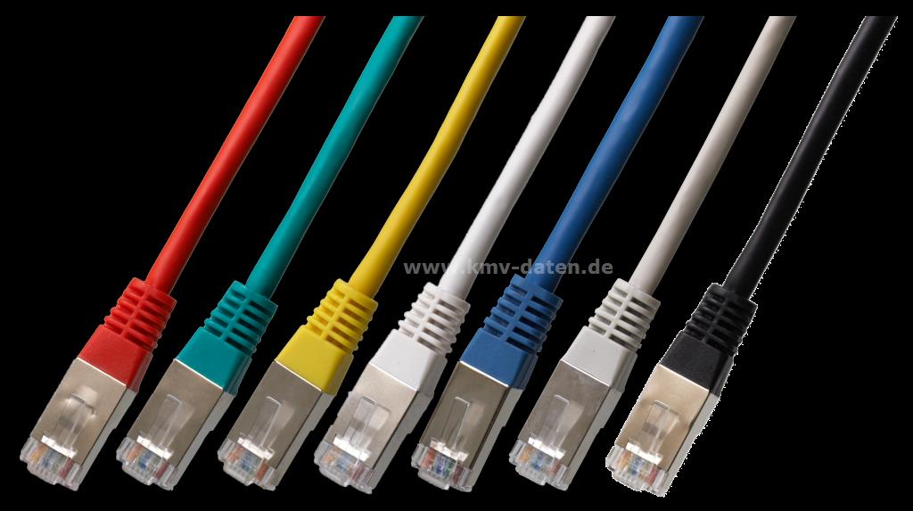 Patchkabel Cat 5e 1 Gbit Länge:1,0m Stecker: RJ 45 blau < > RJ 45 ...